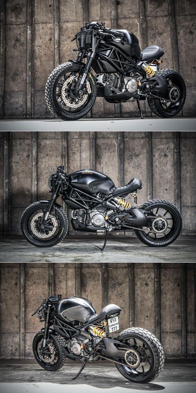 Ducati M1100 Darth Mostro