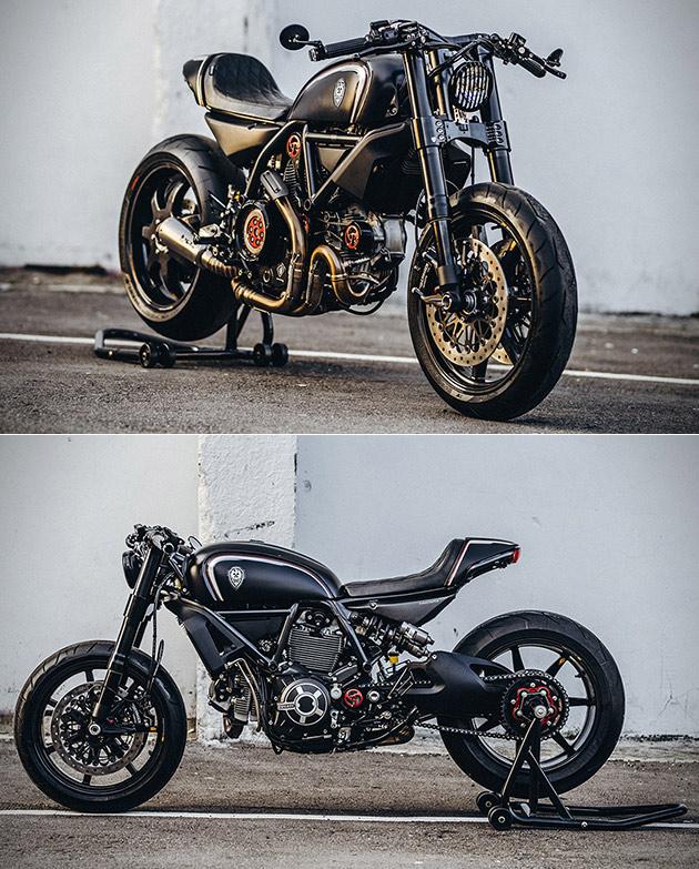 Ducati Scrambler Rough Crafts