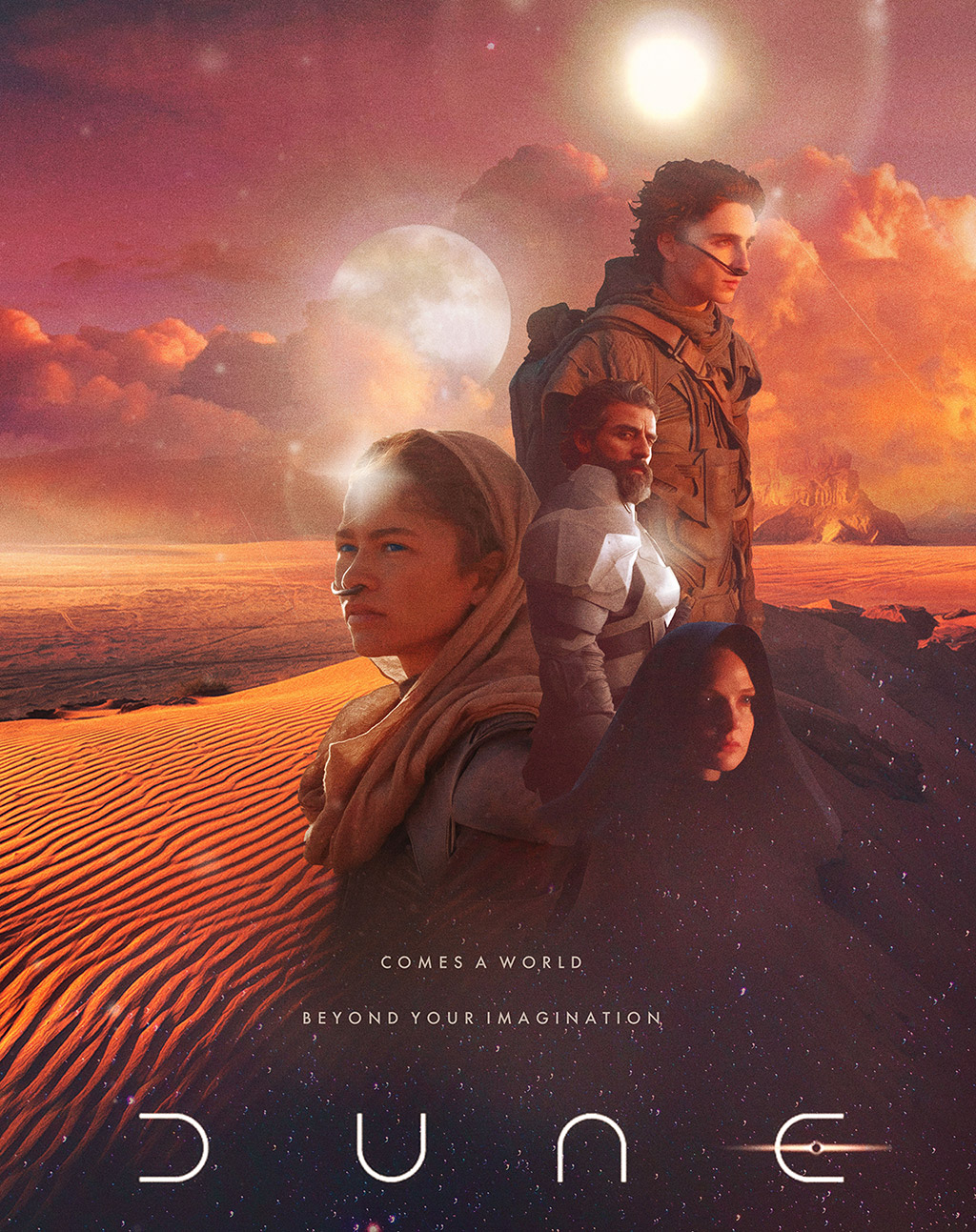Dune Movie 2020 Poster Trailer