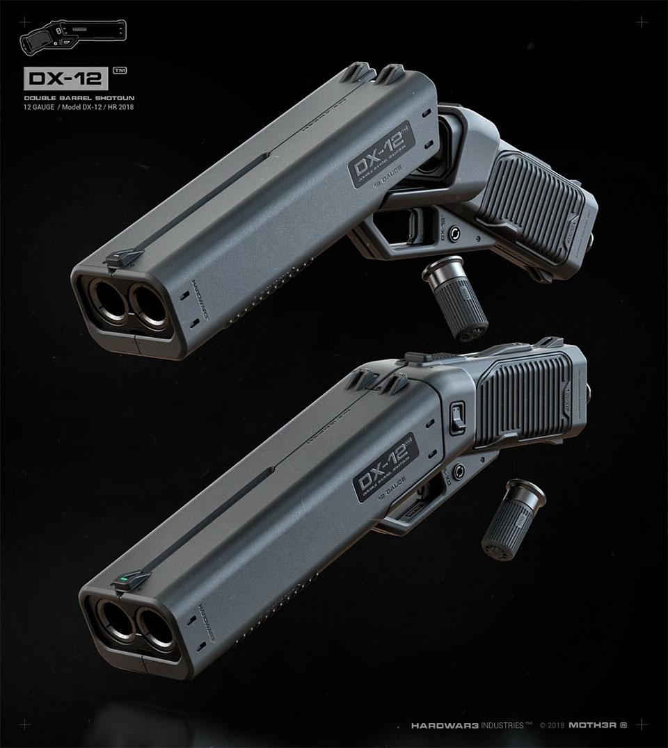 DX-12 Punisher Shotgun