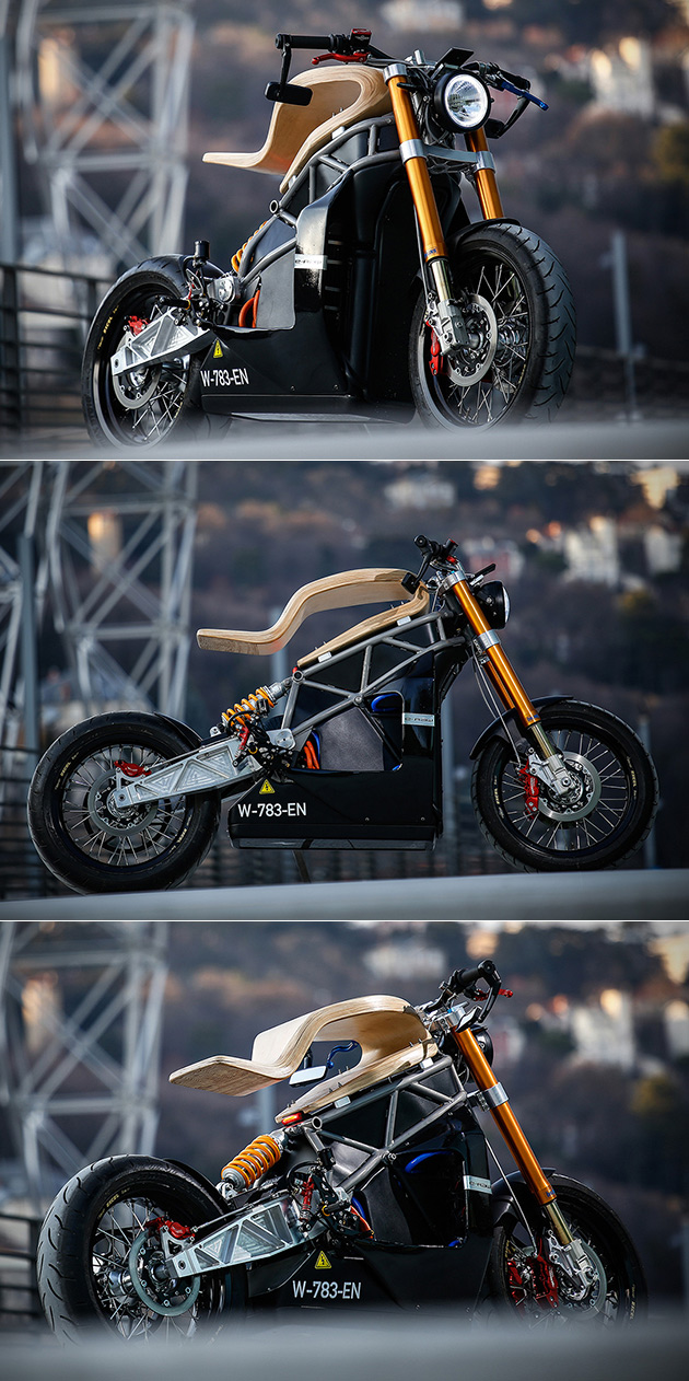 E-Raw Motorcycle