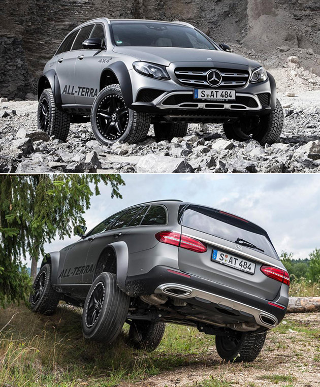 Mercedes benz e400 all terrain 4x4 squared could be world for Mercedes benz e400 wagon