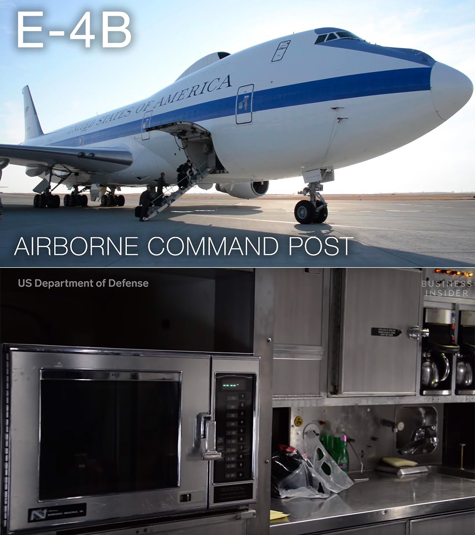 E-4B Nightwatch Doomsday Plane