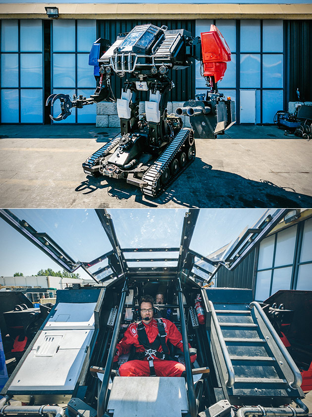 Eagle Prime Robot