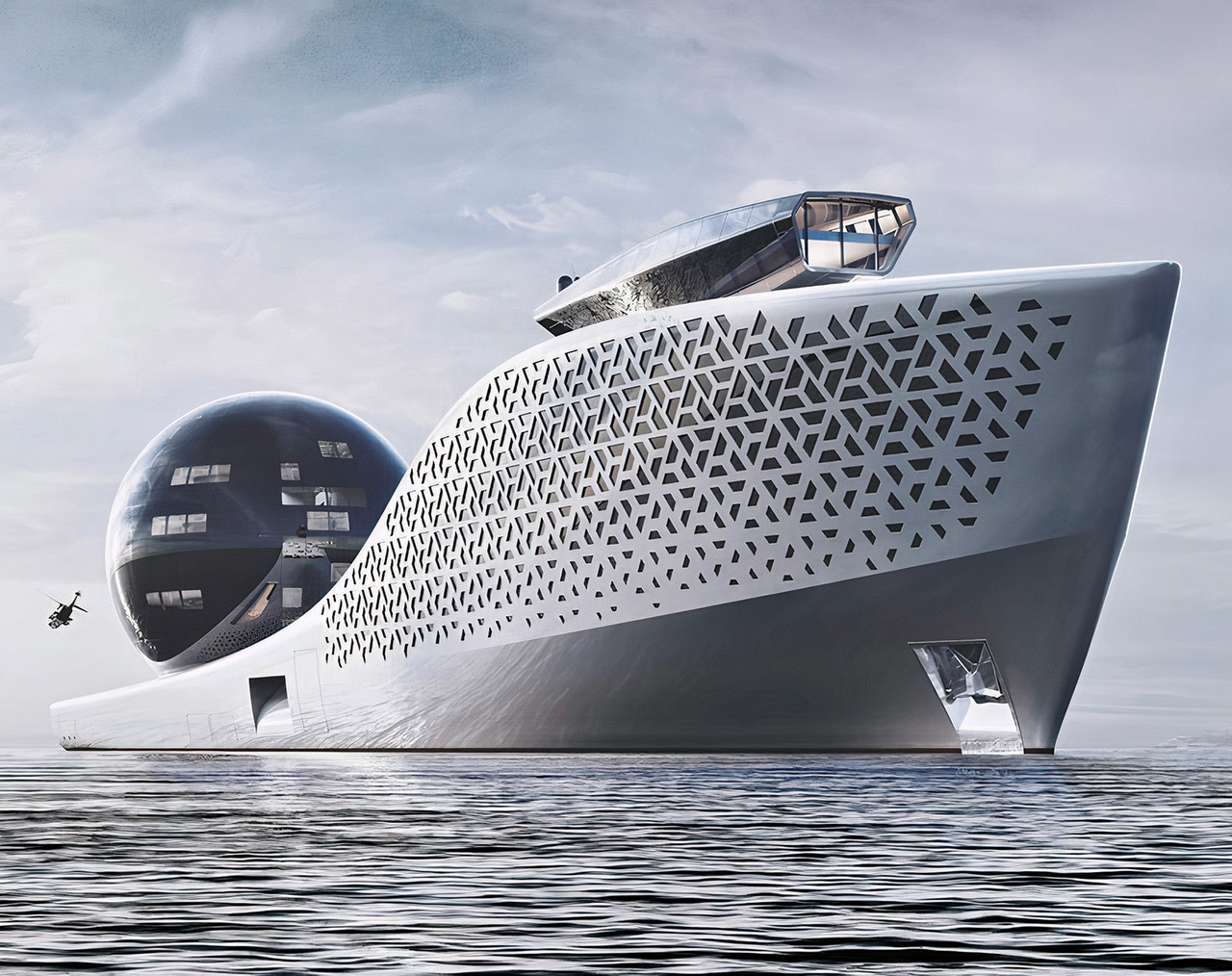 Earth 300 First Nuclear-Powered Superyacht