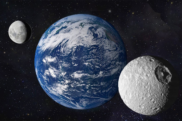 Earth Second Moon