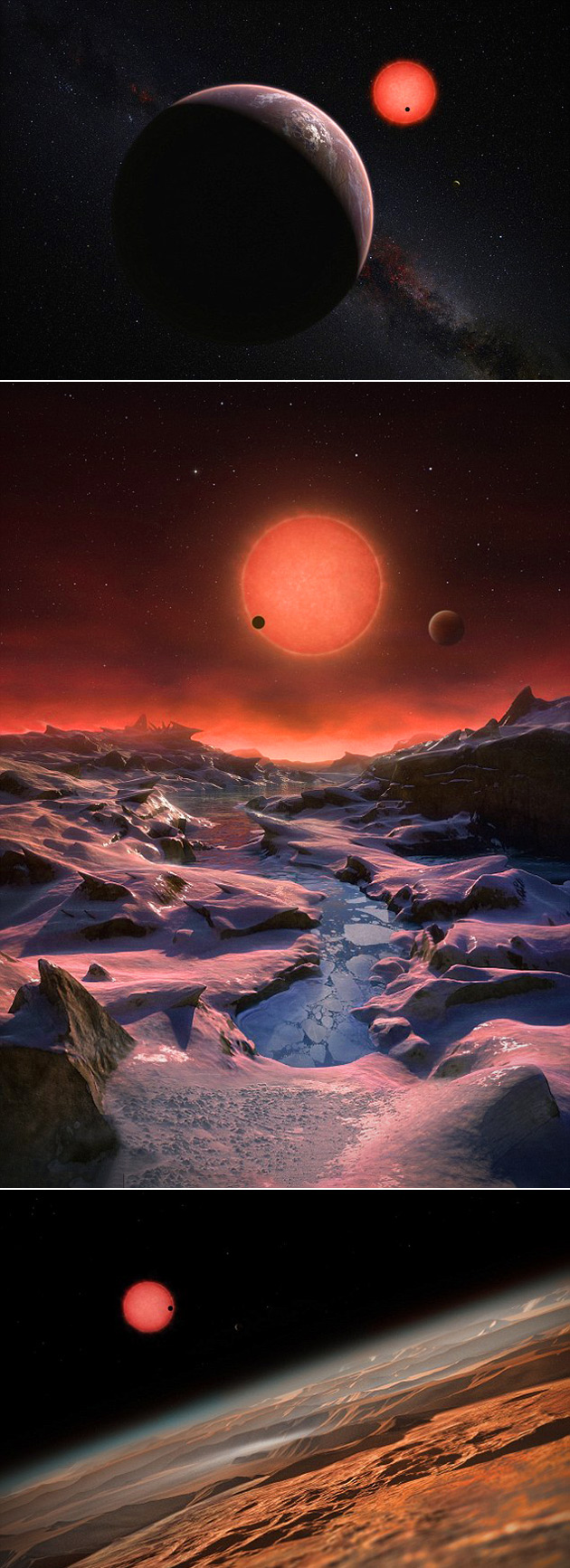 Earth-Like Habitable Worlds