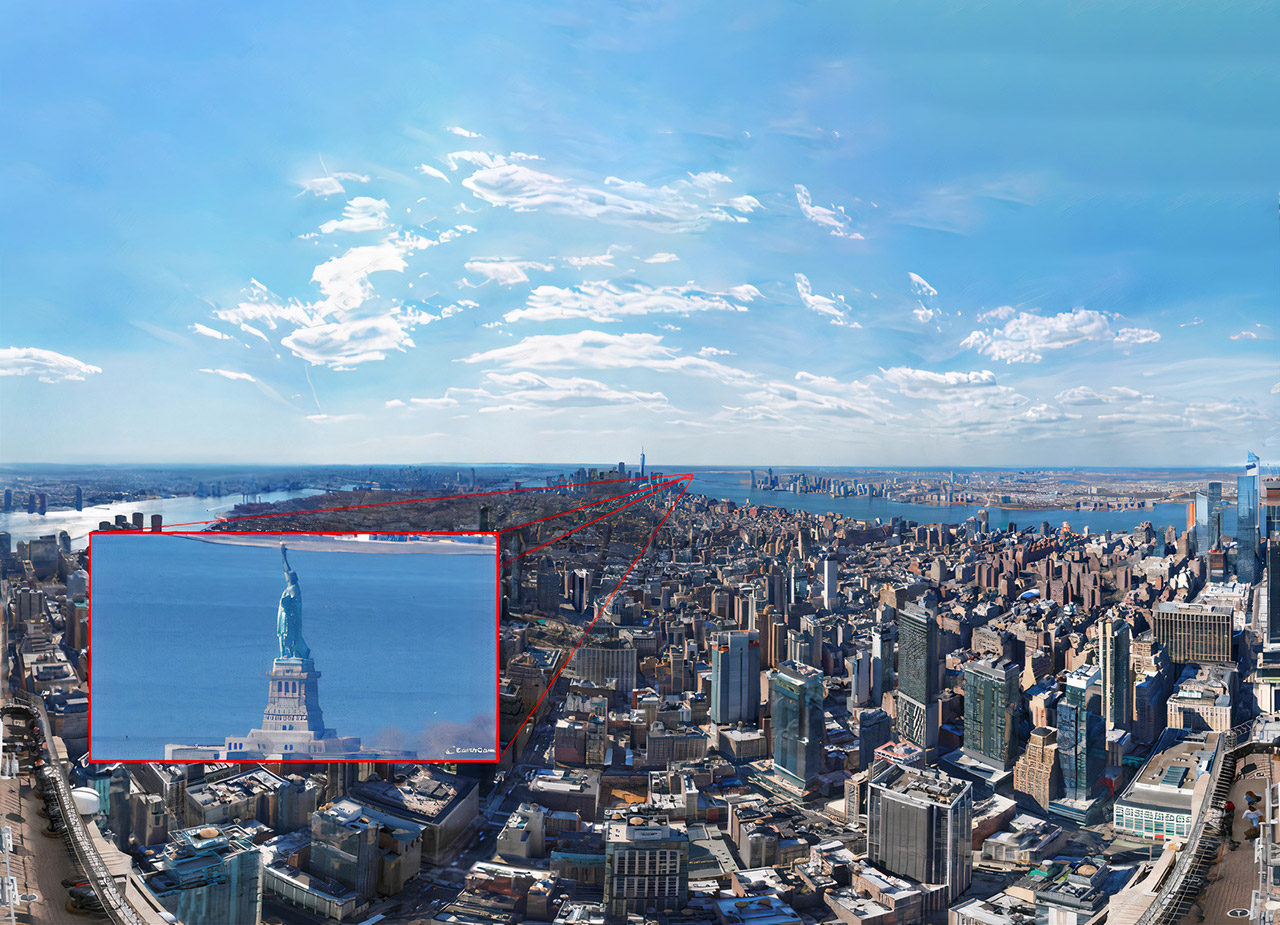 EarthCam GigapixelCam X80 New York City Photo