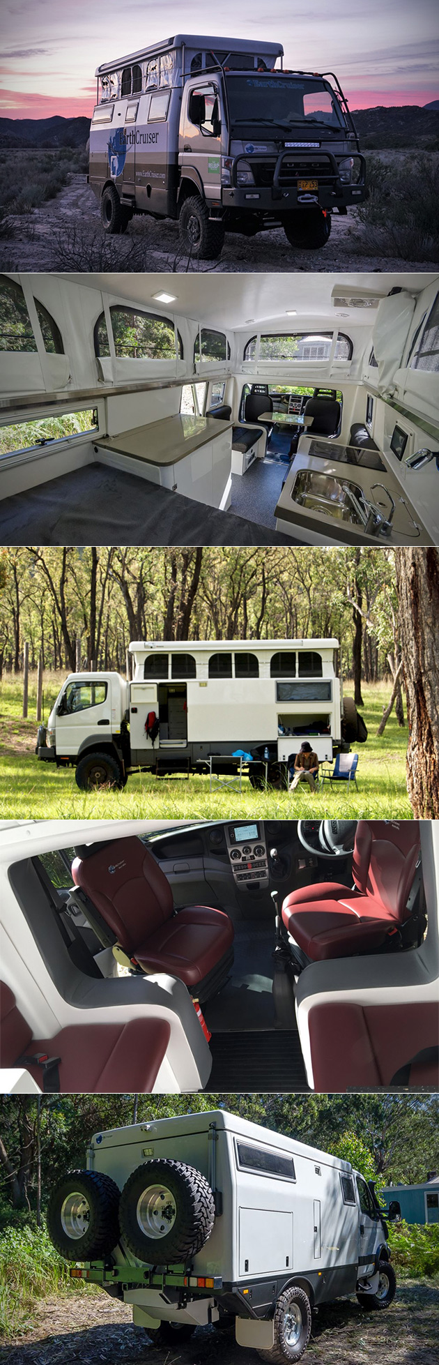 EarthCruiser EXP is the Swiss Army Knife of Expedition Vehicles, Has Solar Power and Pop-Up Roof