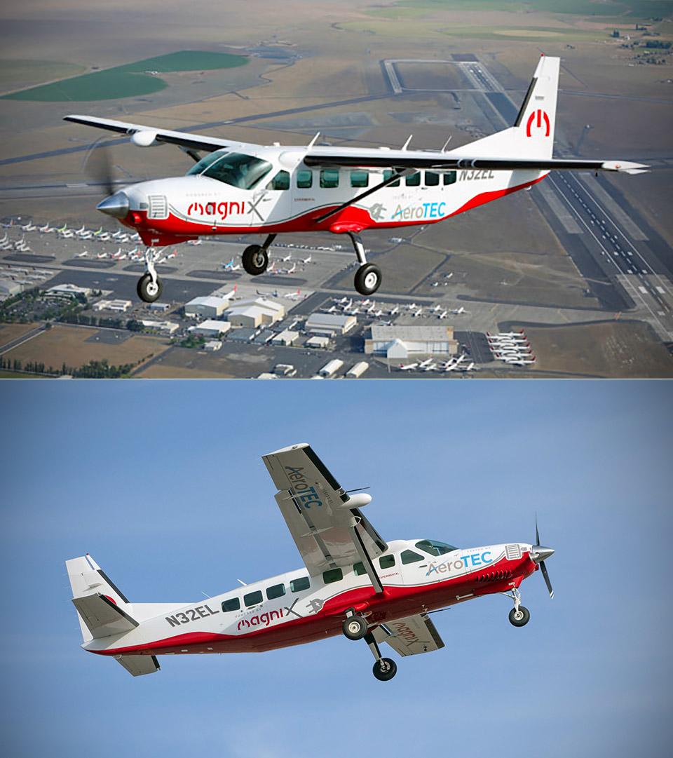 eCaravan Electric Cessna