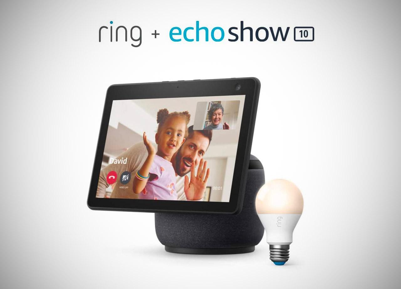 Echo Show 10 Ring A19 Smart LED Bulb