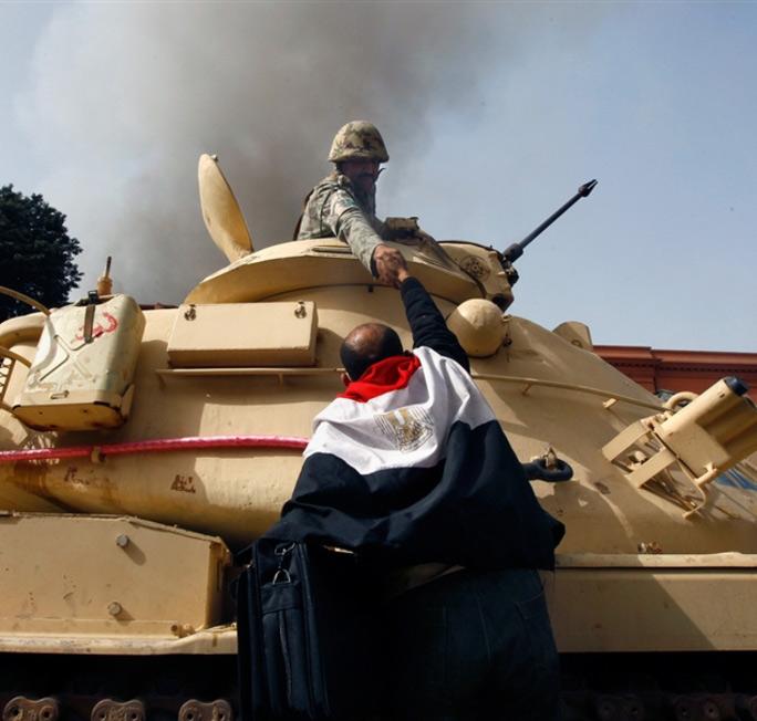 Egyptian Army Refuse
