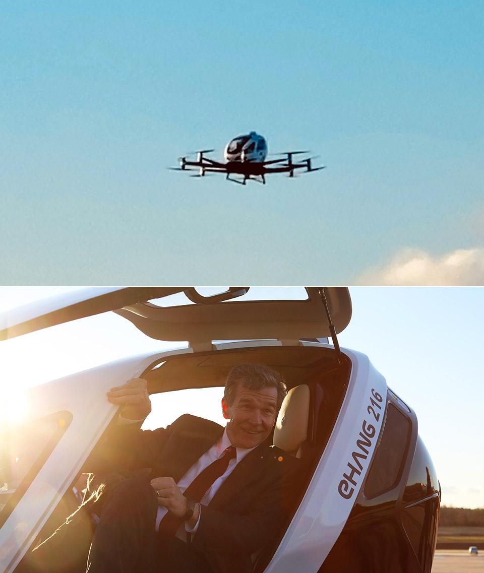 Ehang 216 AAV Passenger Drone