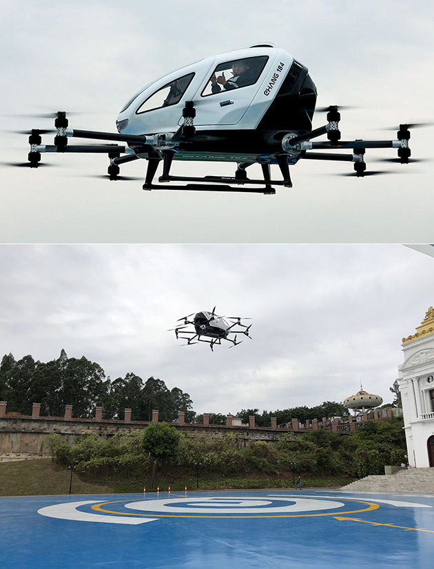 EHANG 814 Manned Drone