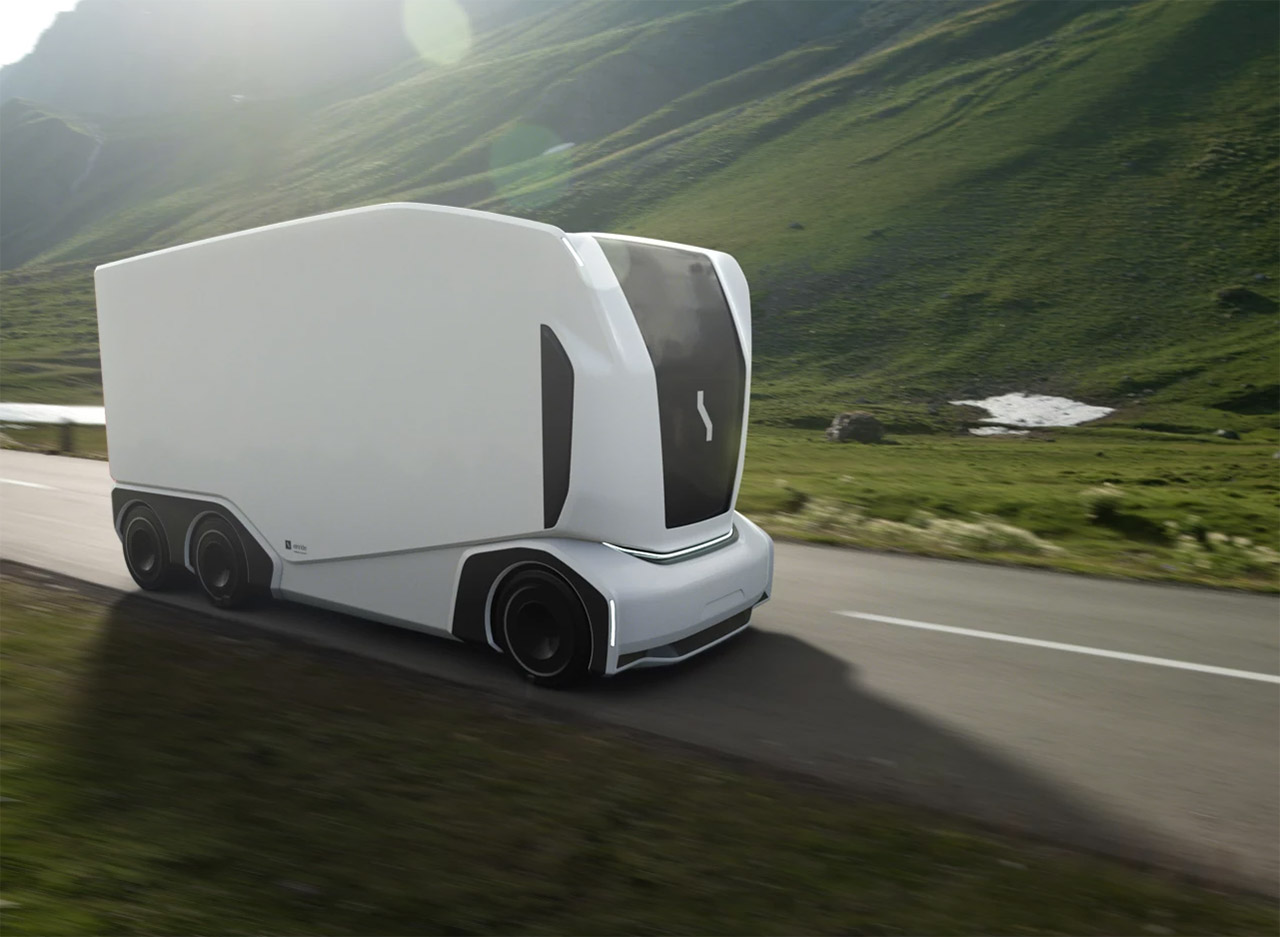 Einride Pod Electric Truck Top Gear