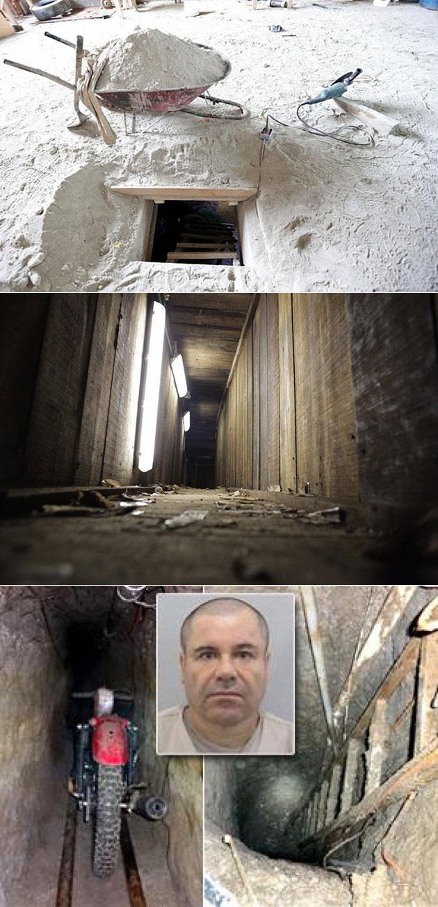 El Chapo Guzman Escape