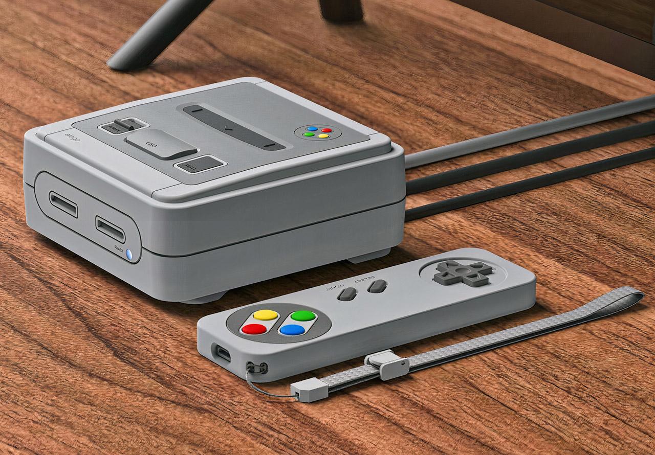 Elago T4 Apple TV Case Super Nintendo