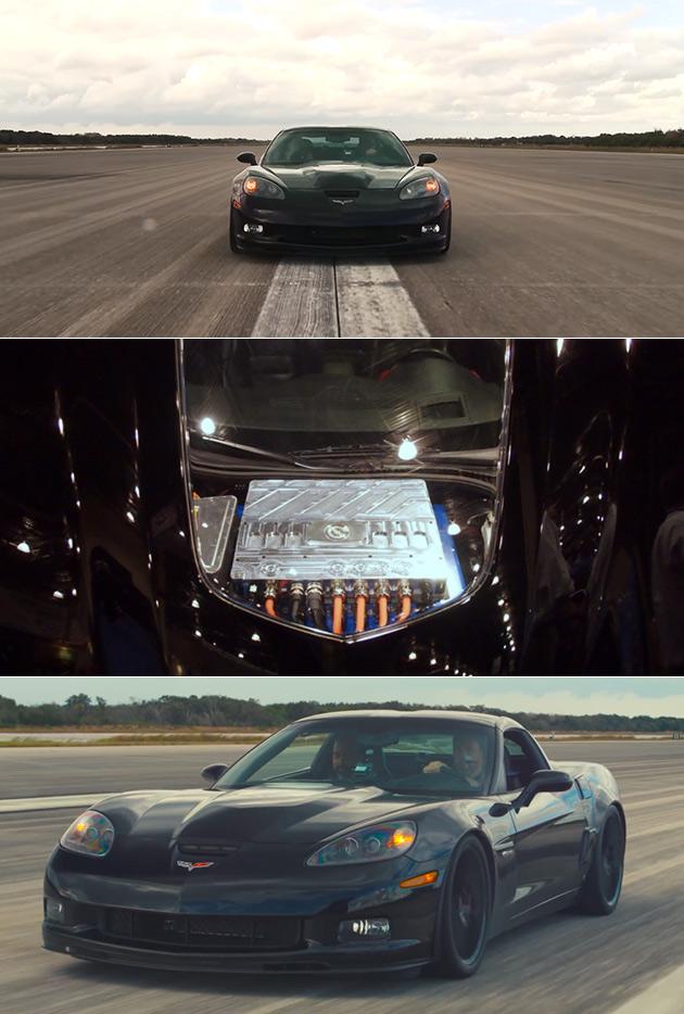 Electric Corvette GXE