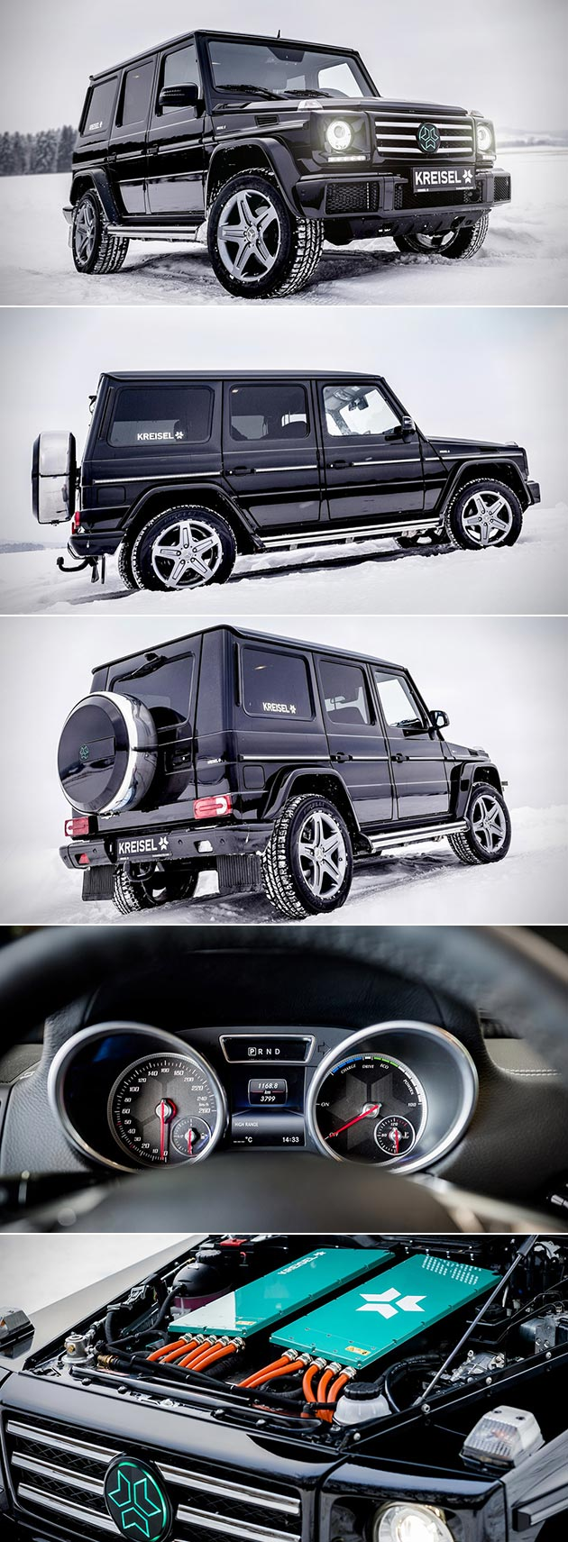 Electric G-Wagon