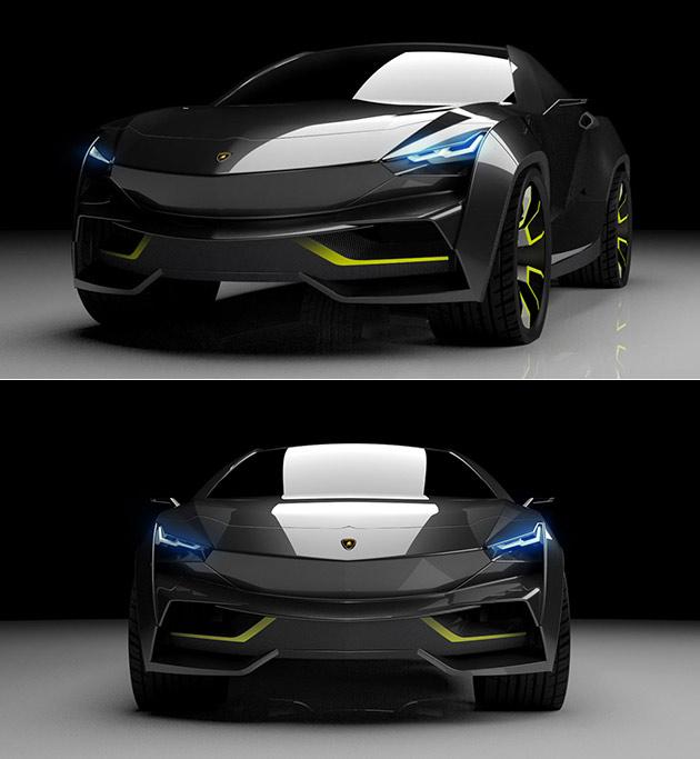 Electric Lamborghini SUV