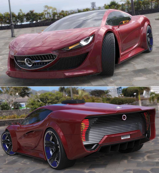 Electric Mercedes-Benz Supercar