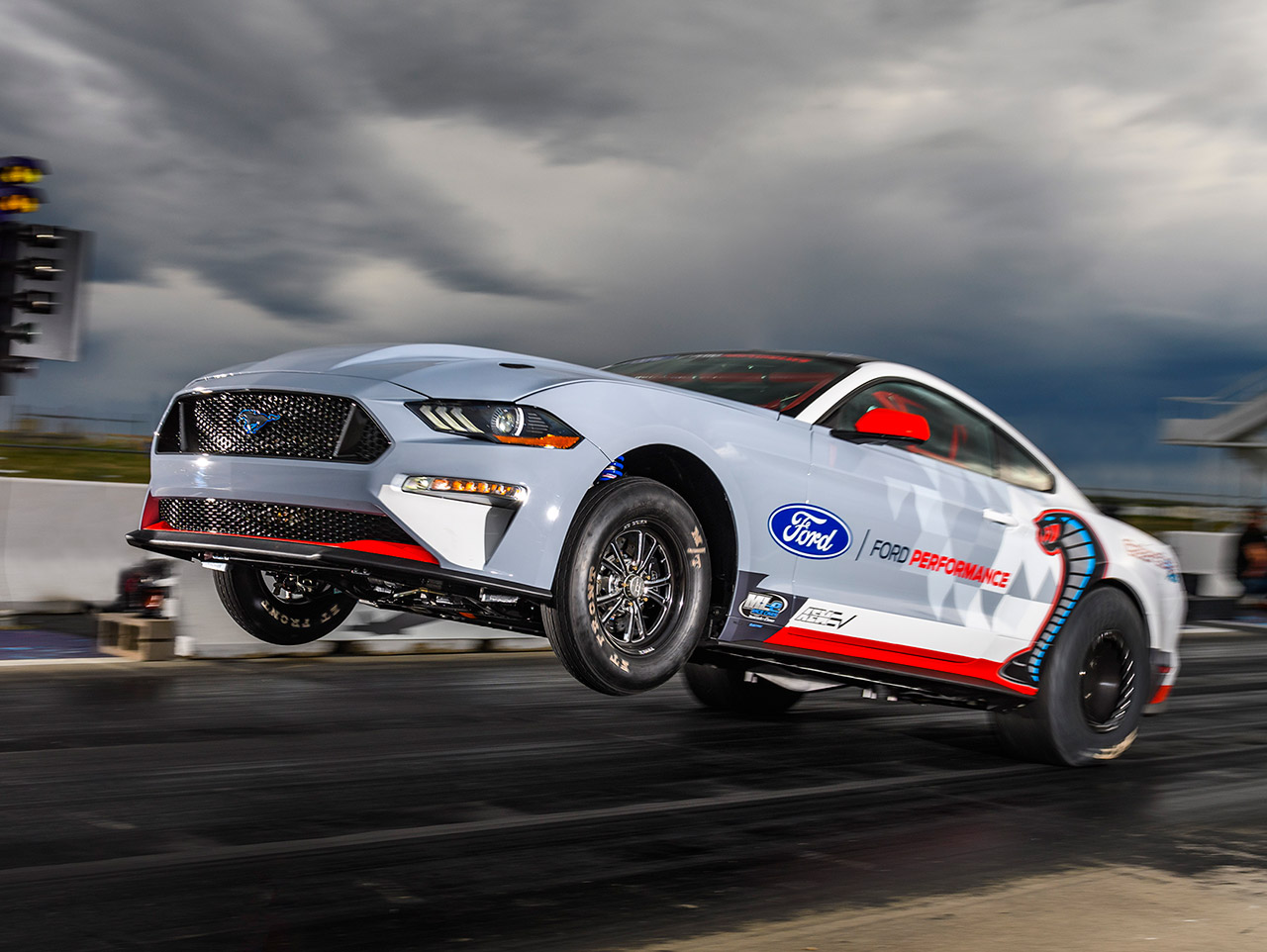 Electric Mustang Cobra Jet 1400 Quarter-Mile