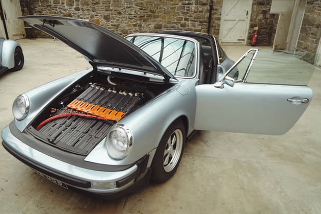 Cela Ressemble à une Normale 1979 Porsche 911, Mais C'est Vraiment un Tout-Électrique de la Machine