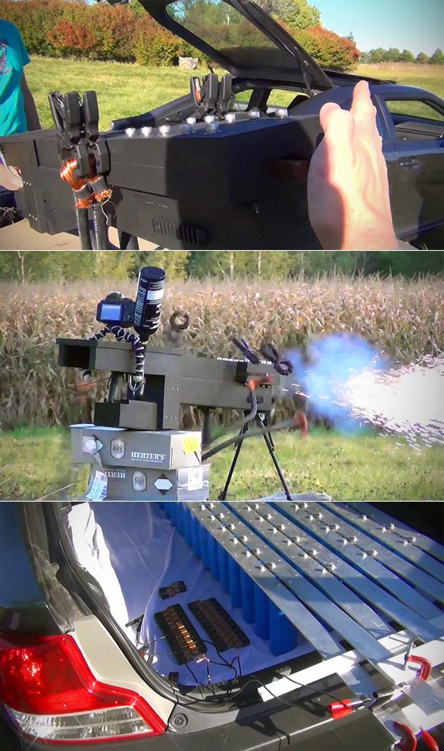 Electric Railgun Homemade