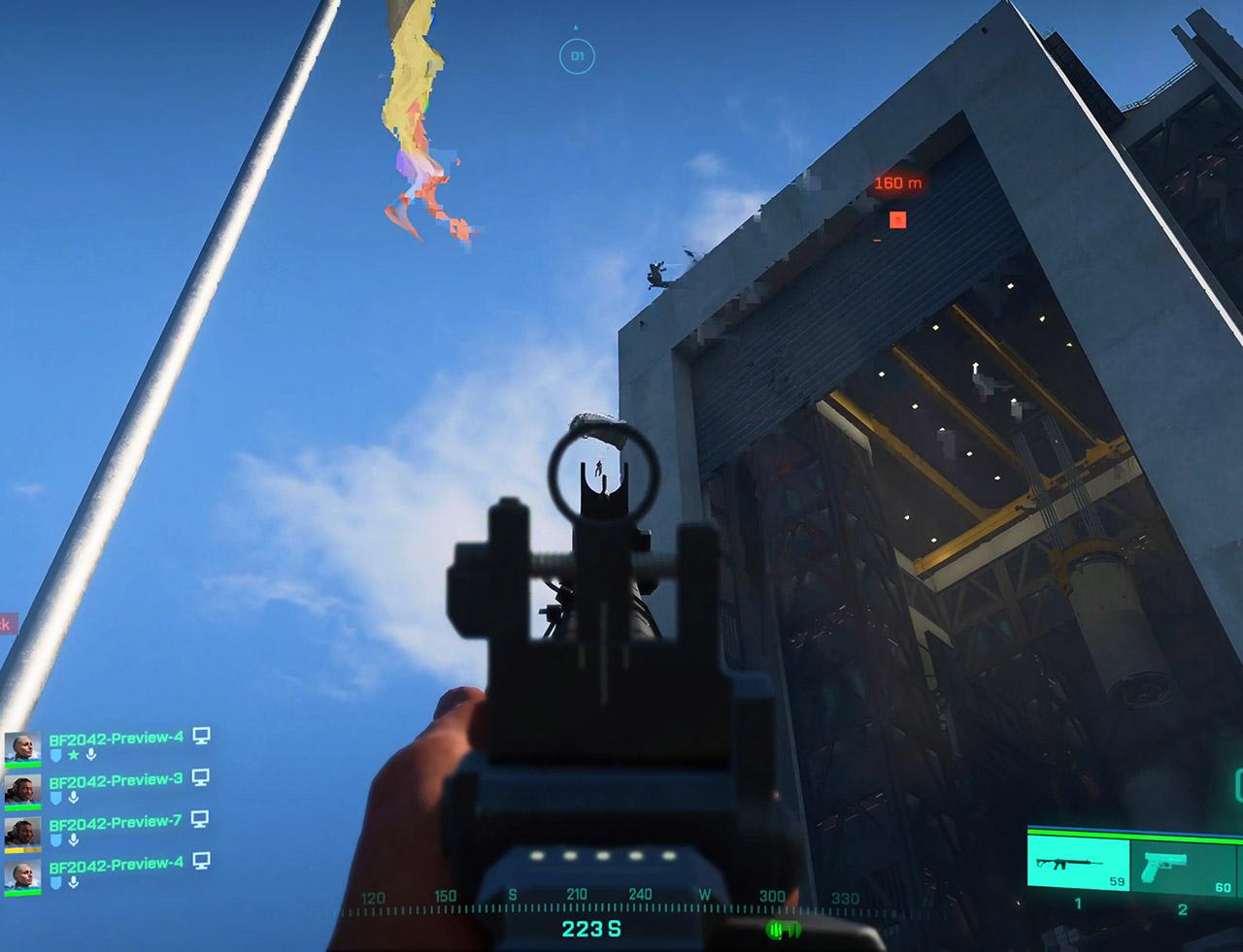 Electronic Arts Battlefield 2042 Open Beta Start Gameplay