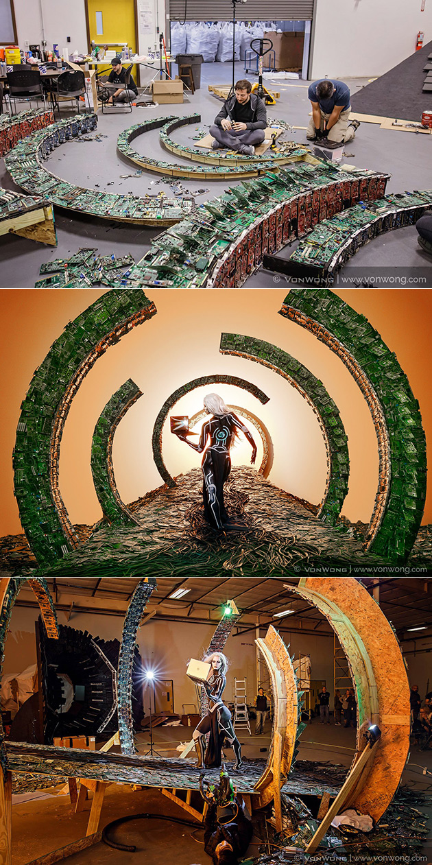 Electronic Waste Art