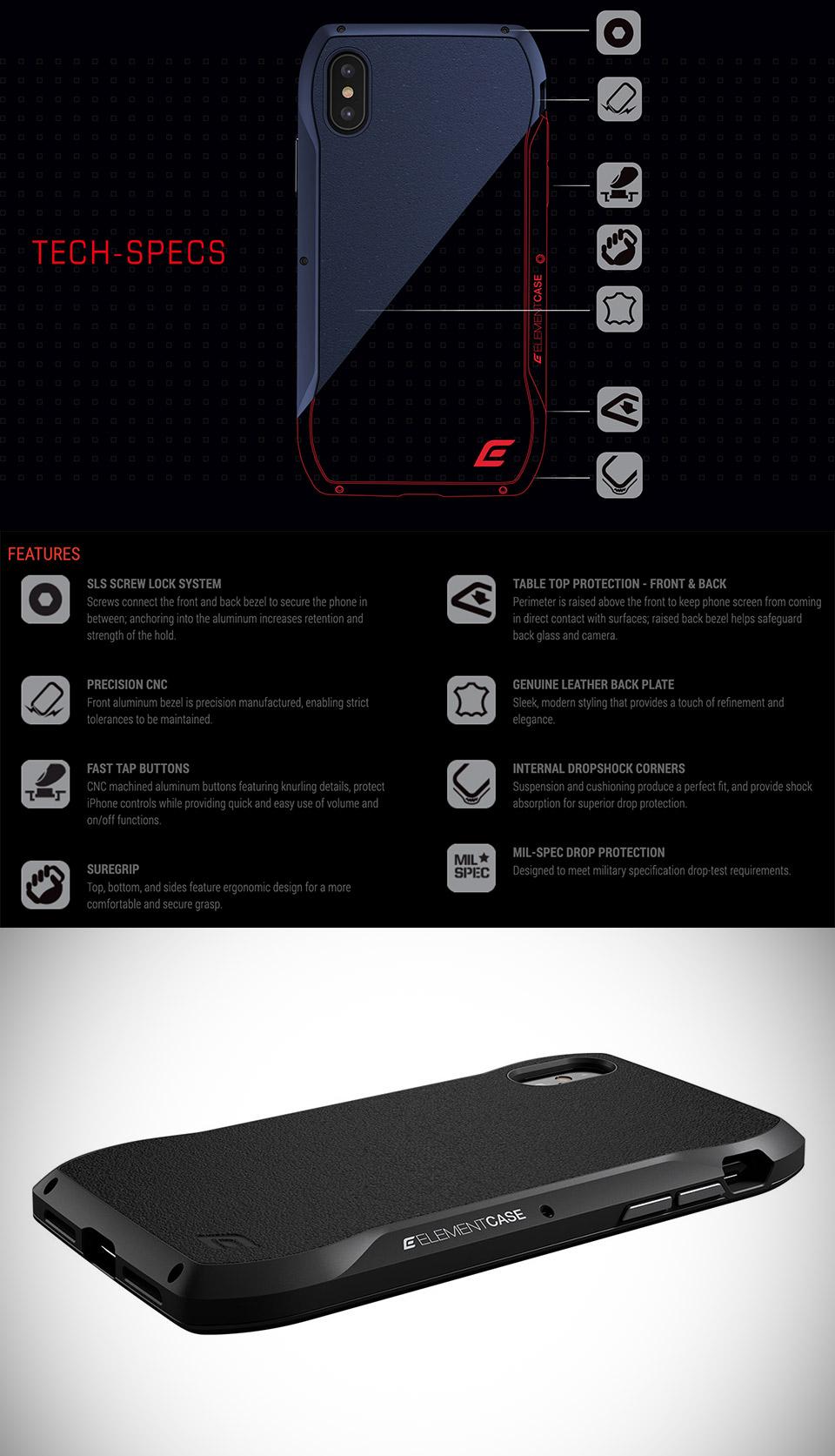 Element Enigma iPhone Case
