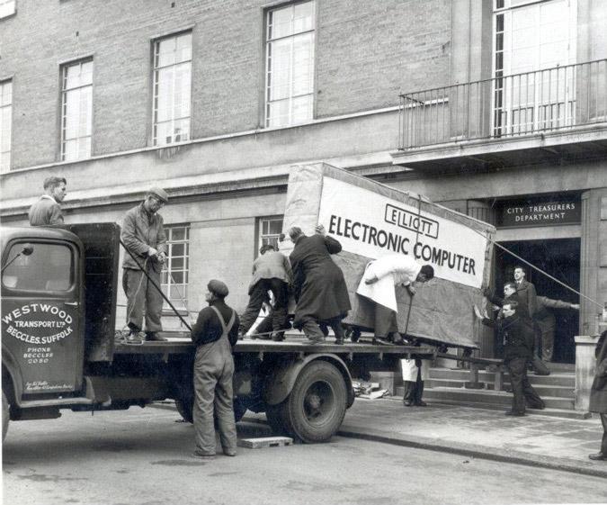 Elliot Computer 1957