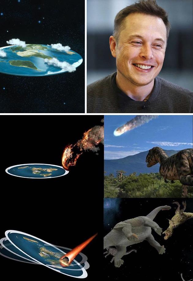Elon Musk Flat Earth