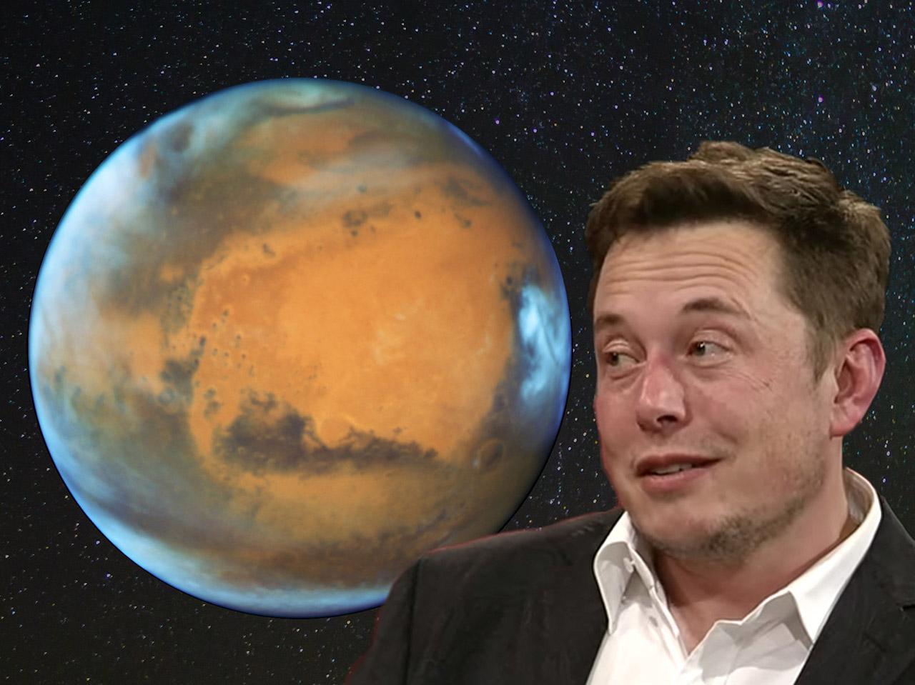 Elon Musk Nuke Mars