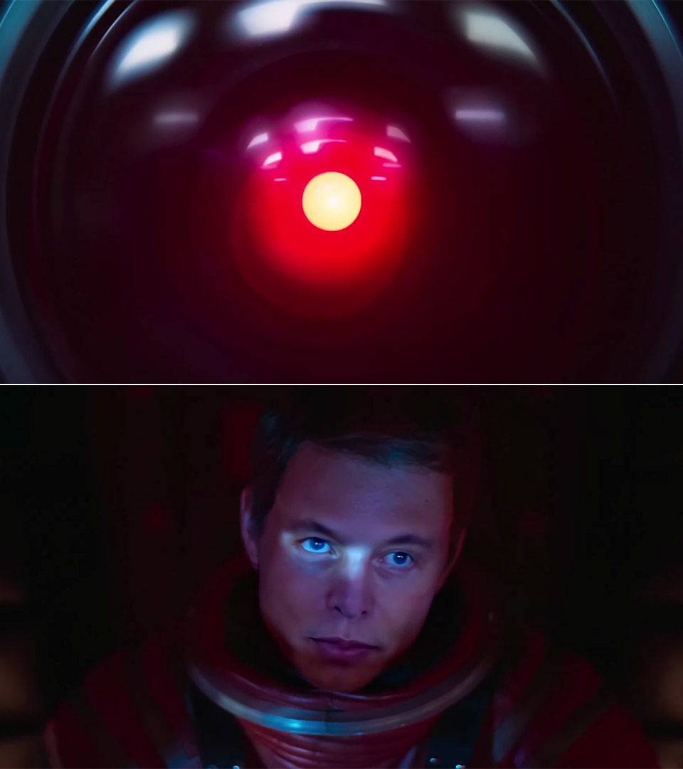 Elon Musk Deepfake Space Odyssey