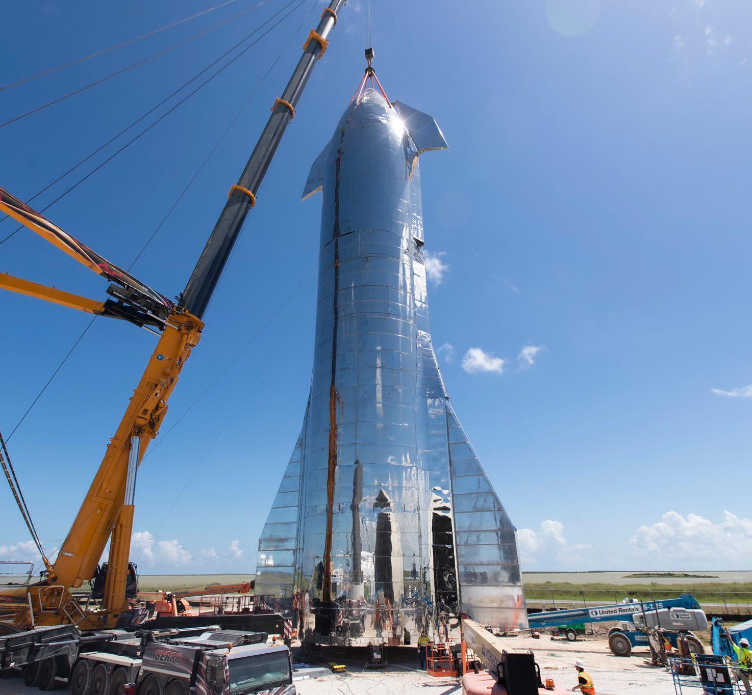 Elon Musk Starship Prototype BFR
