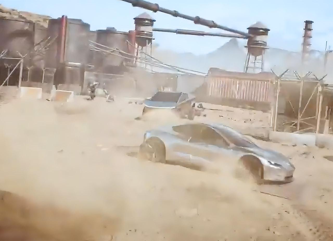 Elon Musk Tesla Cybertruck Game for Peace PUBGM