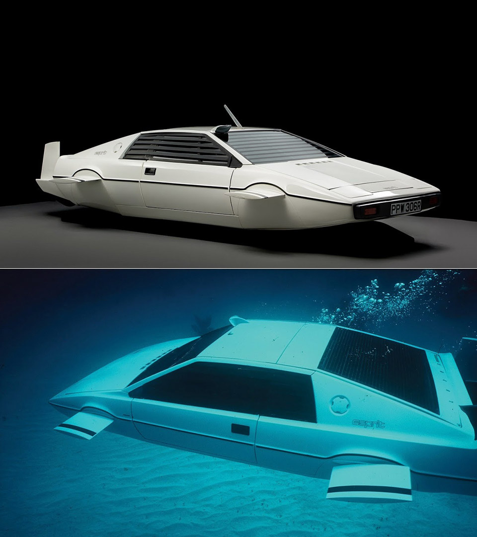 Elon Musk James Bond Lotus Espirit Submarine
