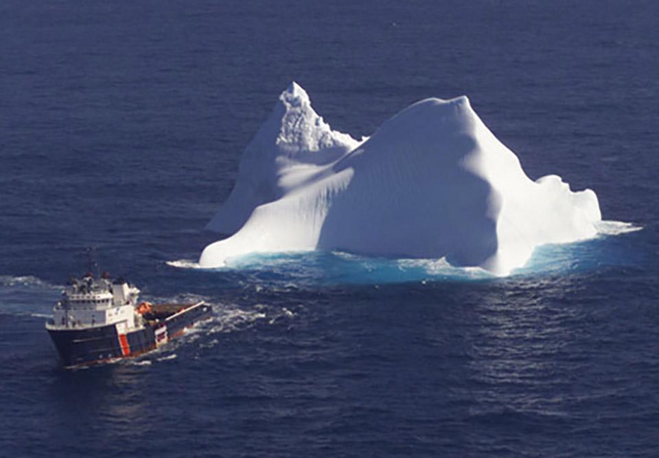 Emirati Businessman Iceberg