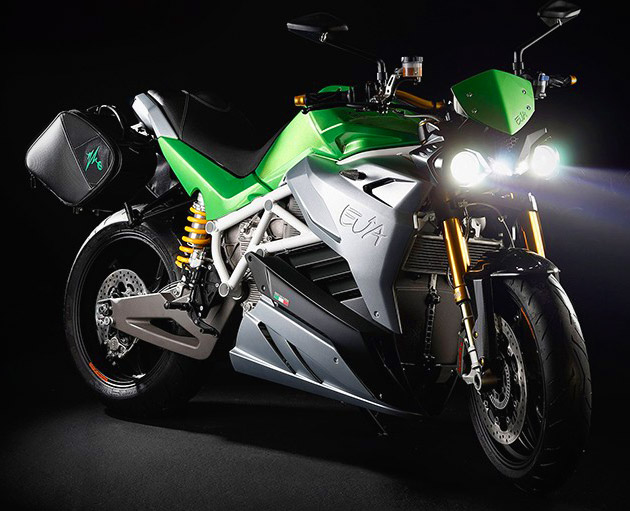 Energica Eva Electric Motorcycle