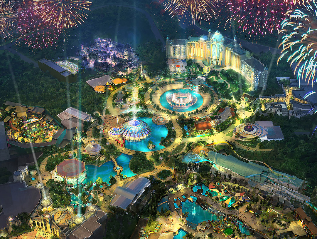 Epic Universe Theme Park Super Nintendo World