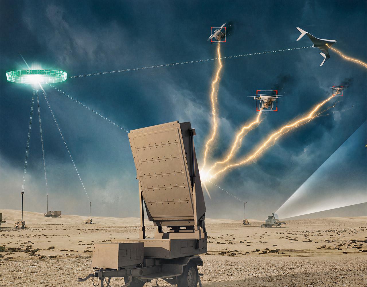Epirus Leonidas Anti-Drone Directed Energy High Power Microwave Weapon