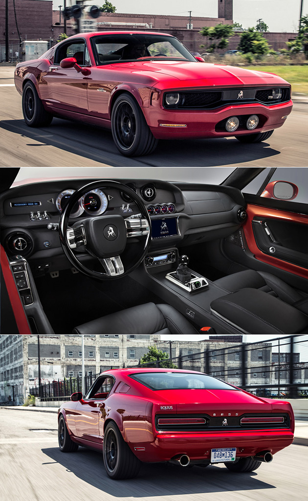 Equus Bass 770 Luxury Muscle Car And 18 More Interesting