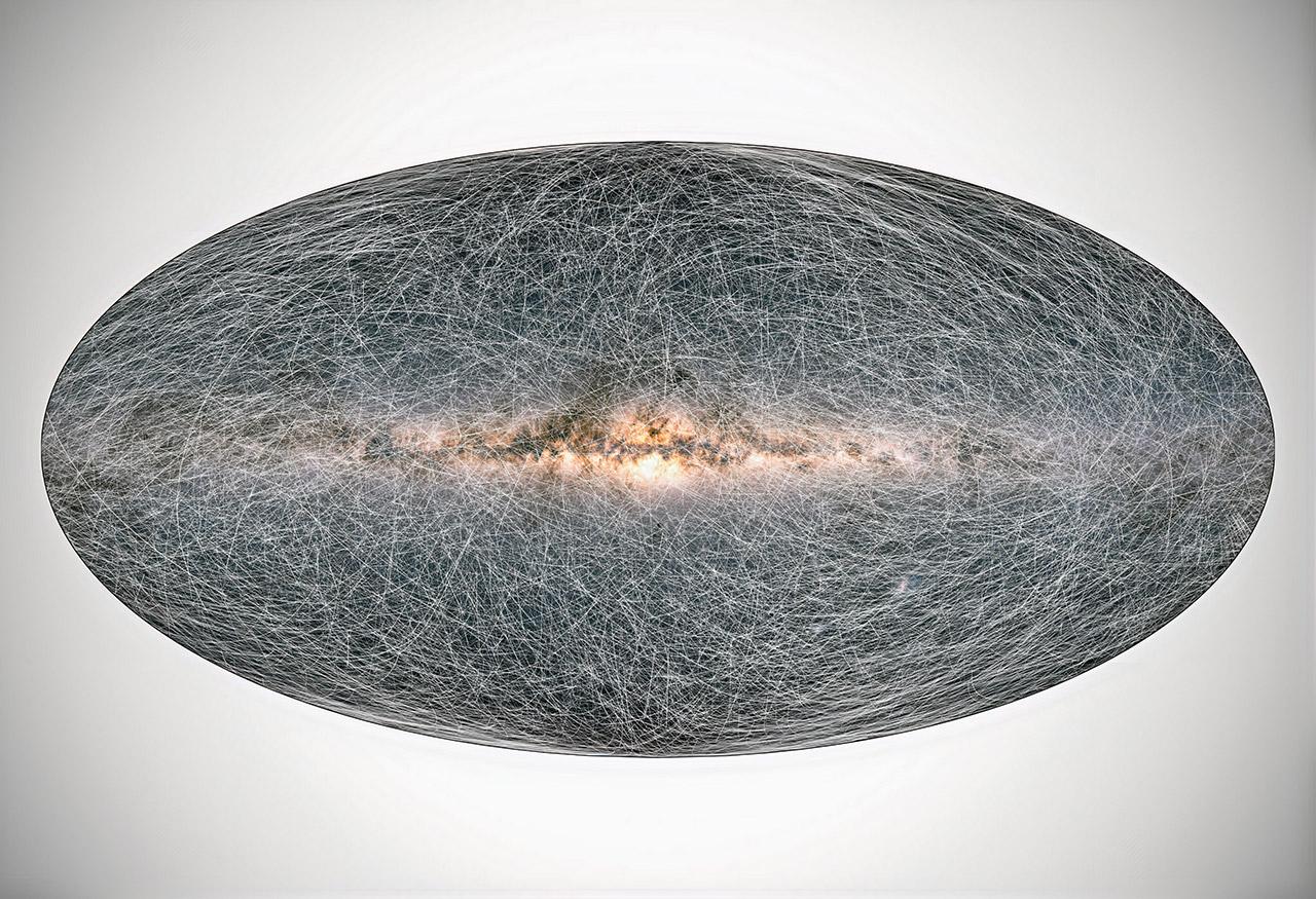 ESA Gaia Milky Way Future