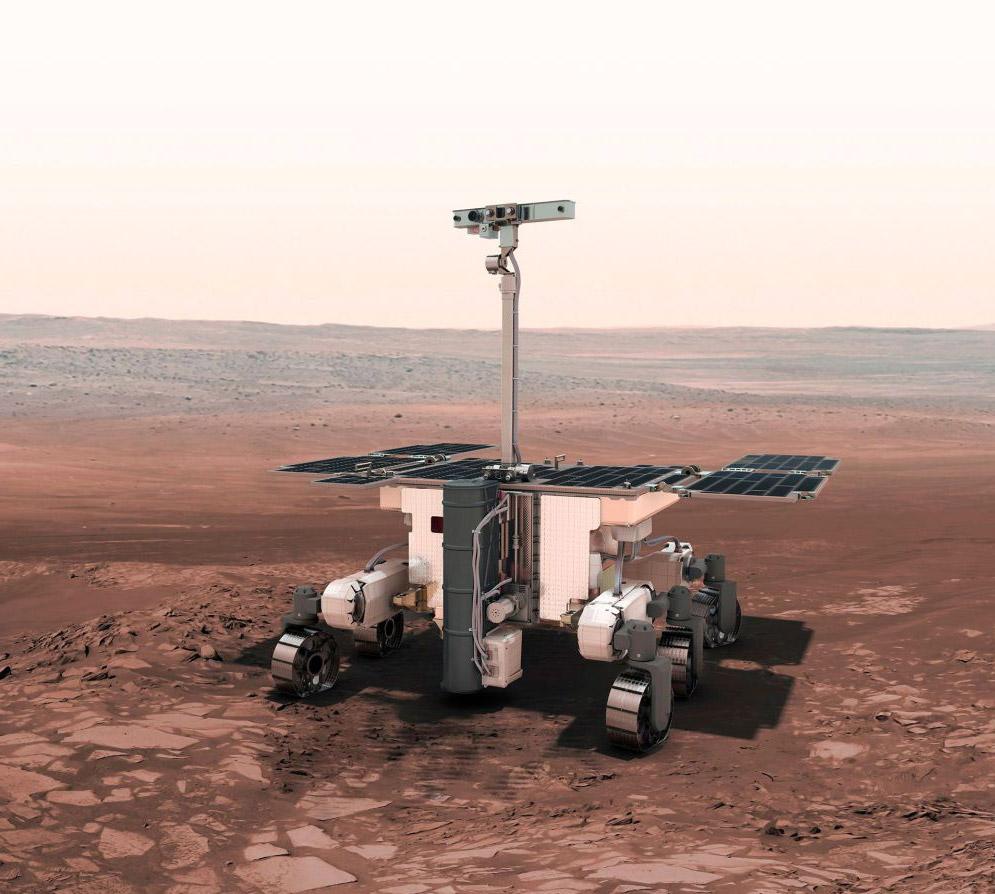 ESA Mars Rover Alien Camera Extraterrestrial Life