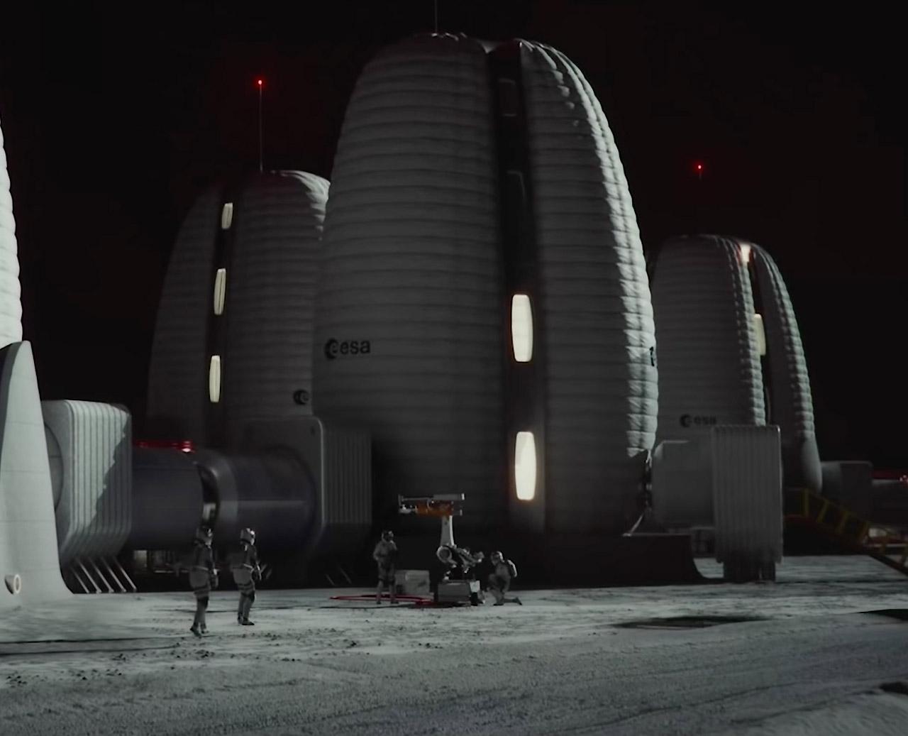 ESA Venice Biennale Lunar Moon Habitat