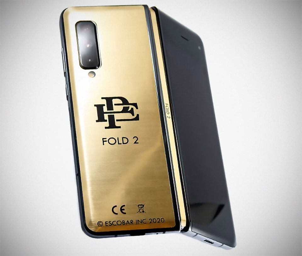 Pablo Escobar Fold 2 Smartphone