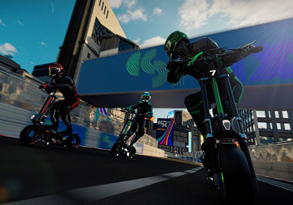 eSkootr Electric Scooter Racing Series
