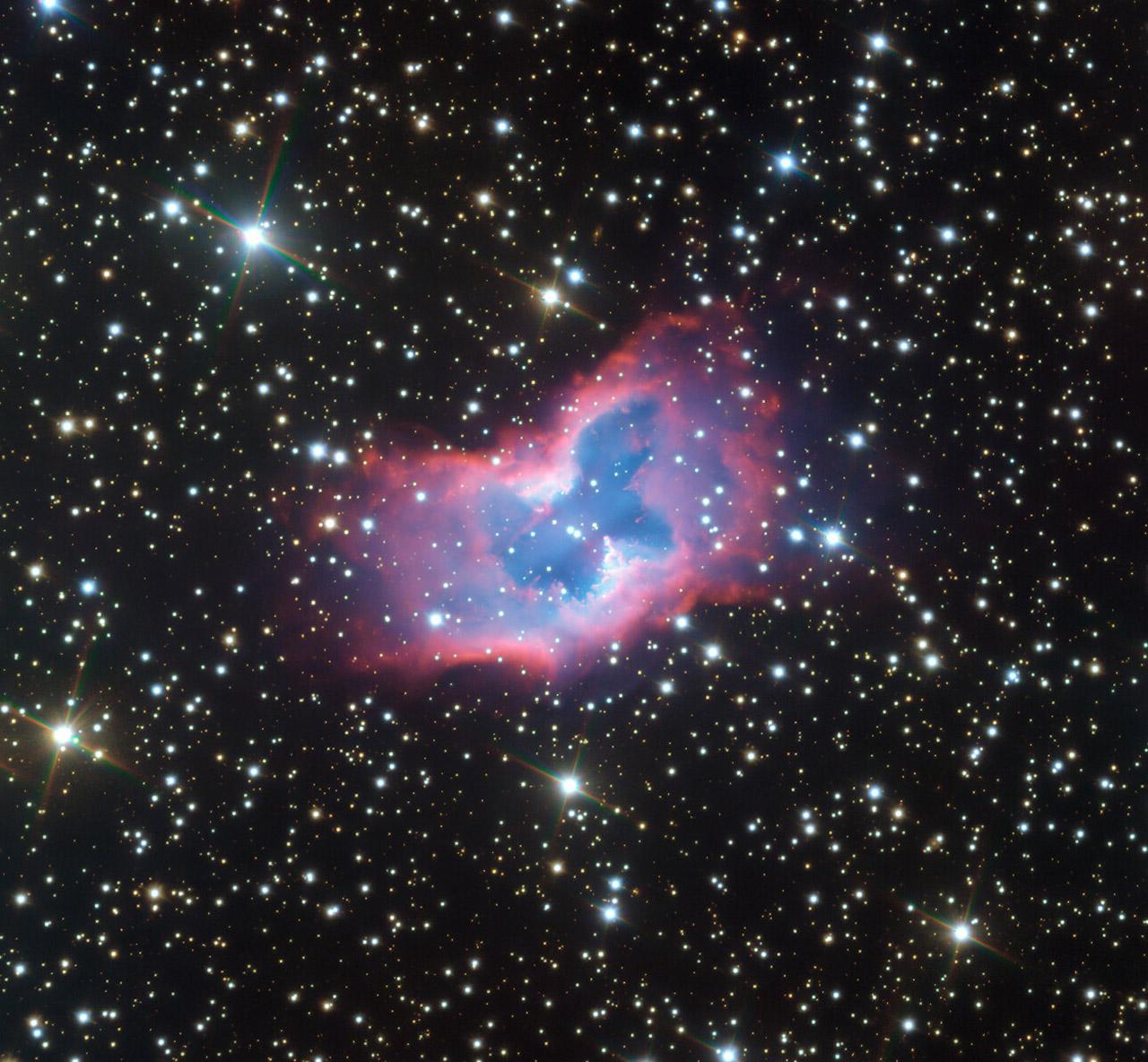 ESO Butterfly NGC 2899 Nebula