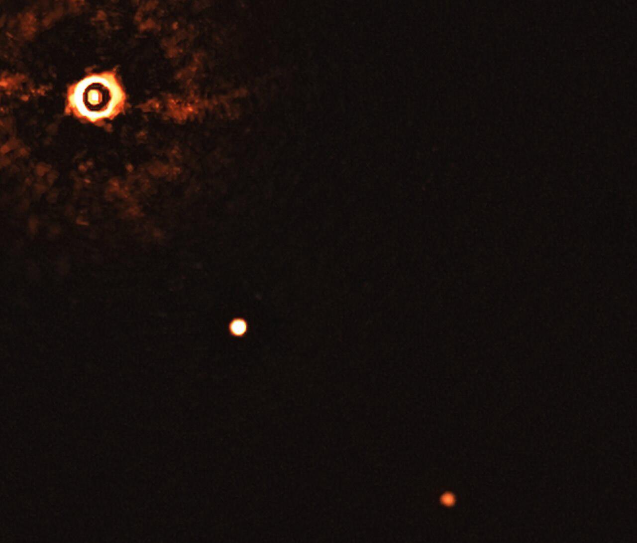 ESO Very Large Telescope Multi-Planet System Sun